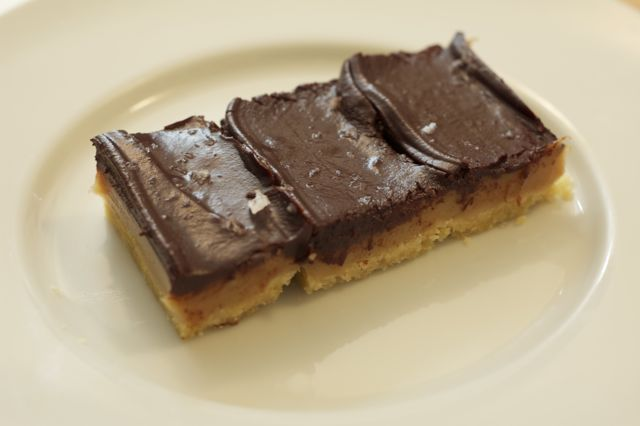 Chocolate-Caramel Slice printable