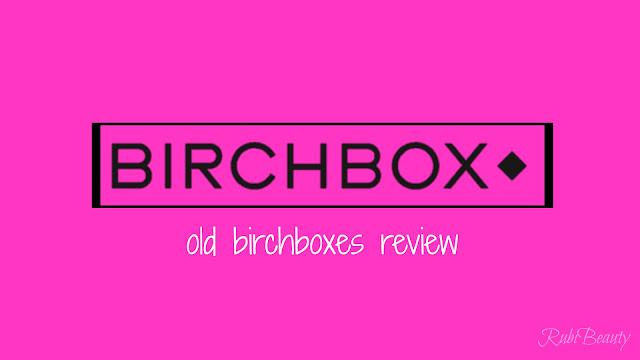 birchbox logo review caja mensual opinion