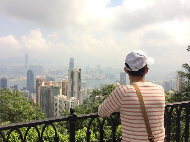 wisata, victoria peak hongkong, peak tower
