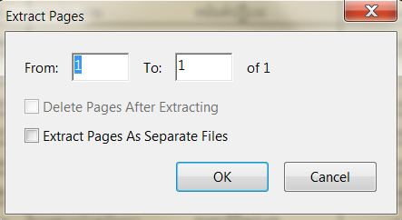 how to extract pages from pdf without acrobat