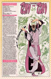 Doctor Tzin Tzin (ficha dc comics)