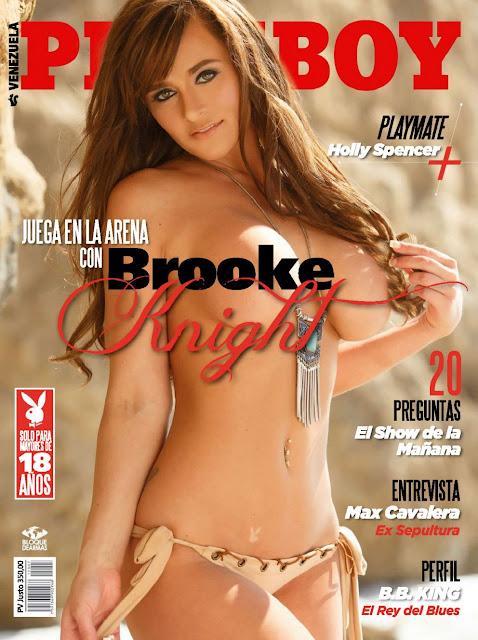 Brooke Knight Revista Playboy Venezuela Julio 2015