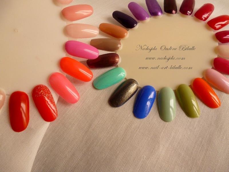 Ongles gel couleur bordeaux - Couleur ongle gel ...