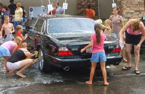 how to build kids car wash