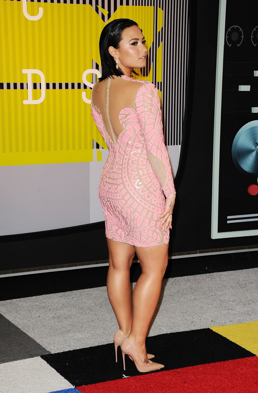 Demi Lovato – 2015 MTV Video Music Awards at Microsoft Theater in Los Angeles