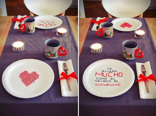 Las delicias de mayte mesas para san valentin for Mesa para san valentin