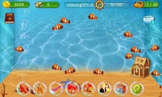 Balık Besleme (Fish Live) Android Apk Oyun resimi