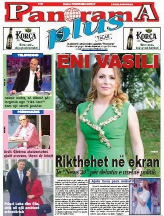 "Revista ""PANORAMA PLUS"" - 28 Shtator 2013"
