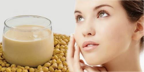 manfaat susu kedelai untuk kecantikan
