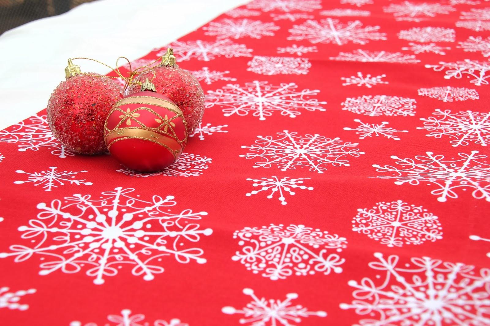 Diy navidad camino de mesa navide o para decorar tu mesa - Diy decoracion navidad ...