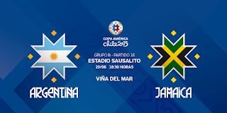 Argentina vs Jamaica en vivo