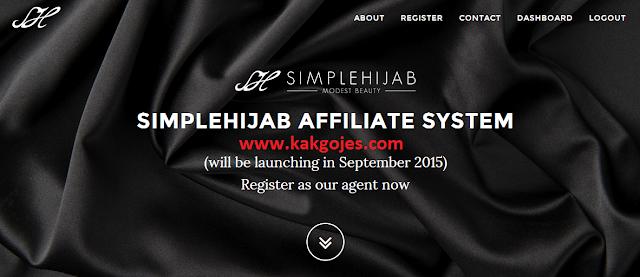 JOM SERTAI SIMPLEHIJAB AFFILIATE ,sistem affiliate simplehijab