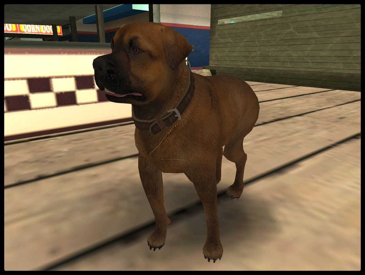 GTA SA - Rottweiler Do GTA V