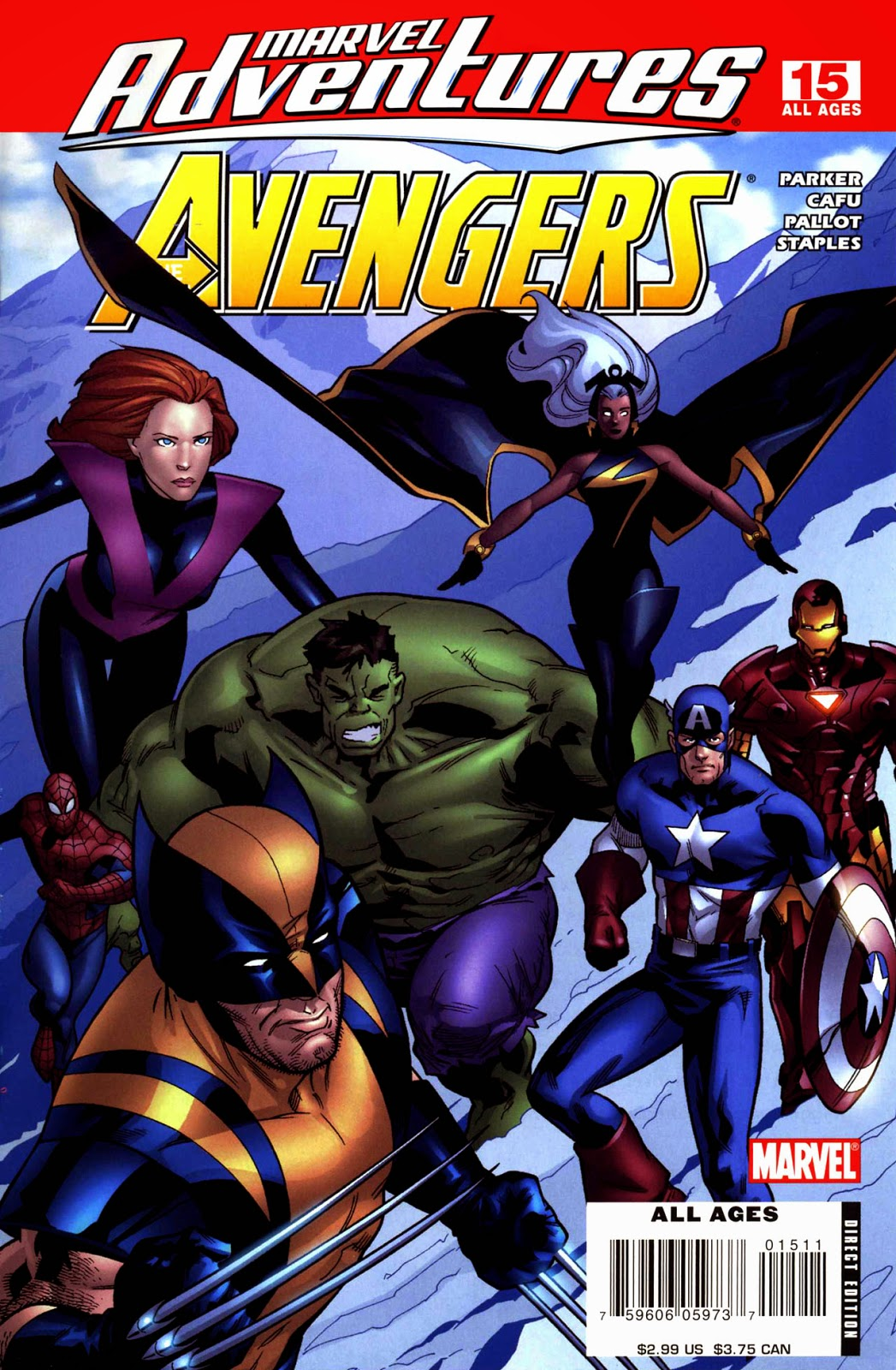 marvel adventures the avengers 015 2007 reading comics online for free. Black Bedroom Furniture Sets. Home Design Ideas