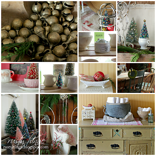 Rusty Hinge 2015 Rustic Meets Refined Christmas Home Tour