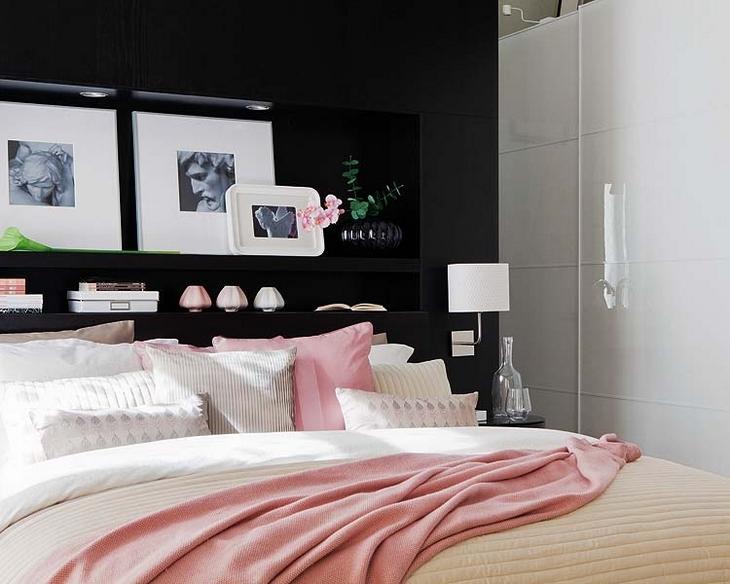 Querido Refúgio Blog de decoração Quartos sedutores  ~ Quarto Rosa E Preto