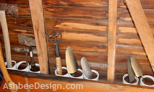 How to Organize Garden Tools with PVC