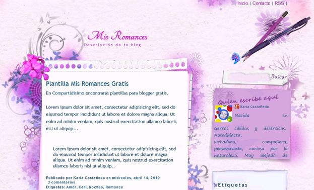 Free Beautiful and Colorful Blogspot Templates to Download for Your Blog