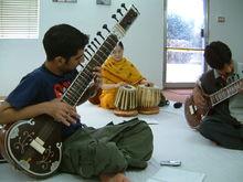 A sitar workshop  pakistan