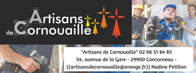 """""""Artisans de Cornouaille"""" (02 98 51 84 85) Concarneau  FINISTÈRE BRETAGNE rénovation dépannage déco"""