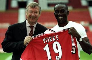 Dwight Yorke dan Sir Alex Ferguson