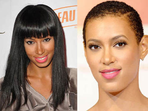 Extreme Hairstyles of Celebs