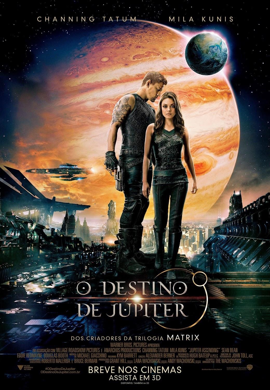 Pôster/capa/cartaz nacional de O DESTINO DE JÚPITER (Jupiter Ascending)