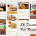 36 Favorite Fall Recipes