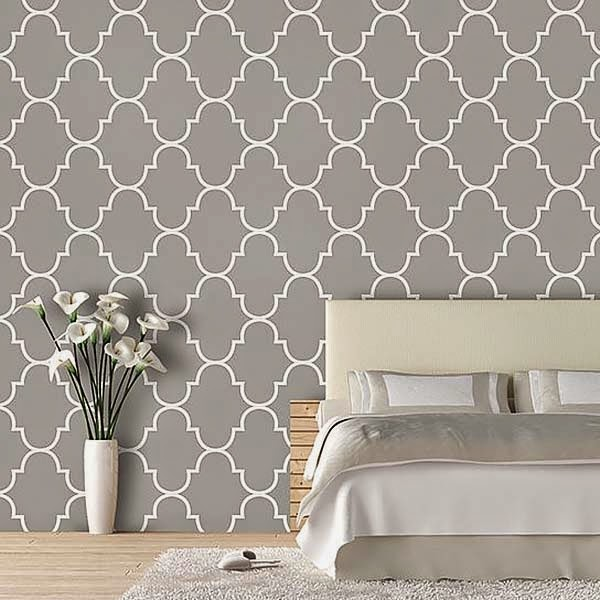 Ideias para decorar com papel de parede decora o e ideias - Papel paredes ikea ...