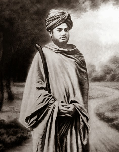 Swami Vivekananda, as a Wanderink monk