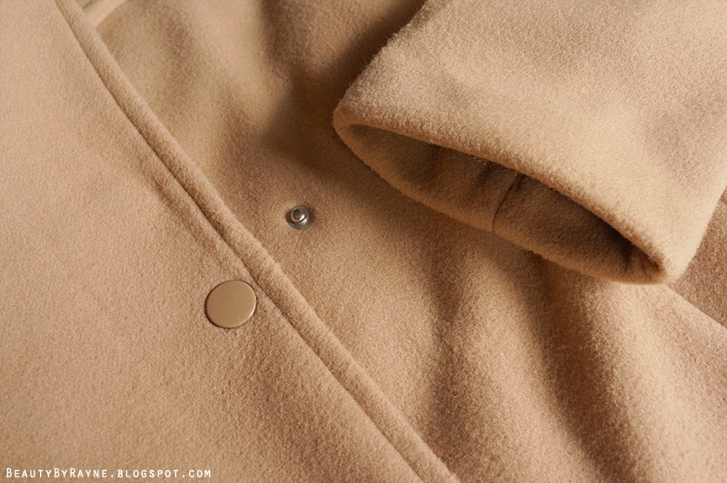 Romwe Camel Coat Review