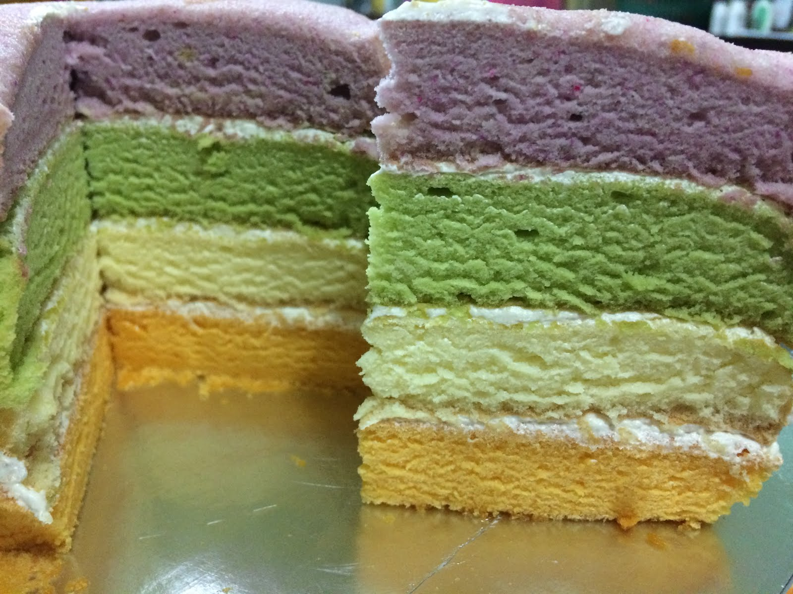 Oriental sponge cake