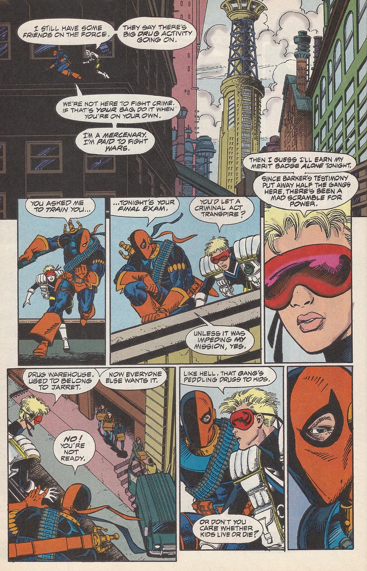 Deathstroke (1991) Issue #10 #15 - English 18