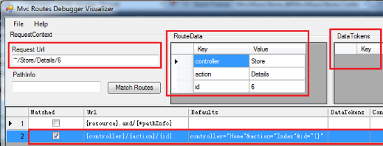 MVC Routing Debugger Visualizer