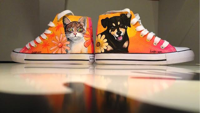 izak graffiti markers molotow sneakers art street art