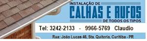 Calhas Jonnã em Curitiba
