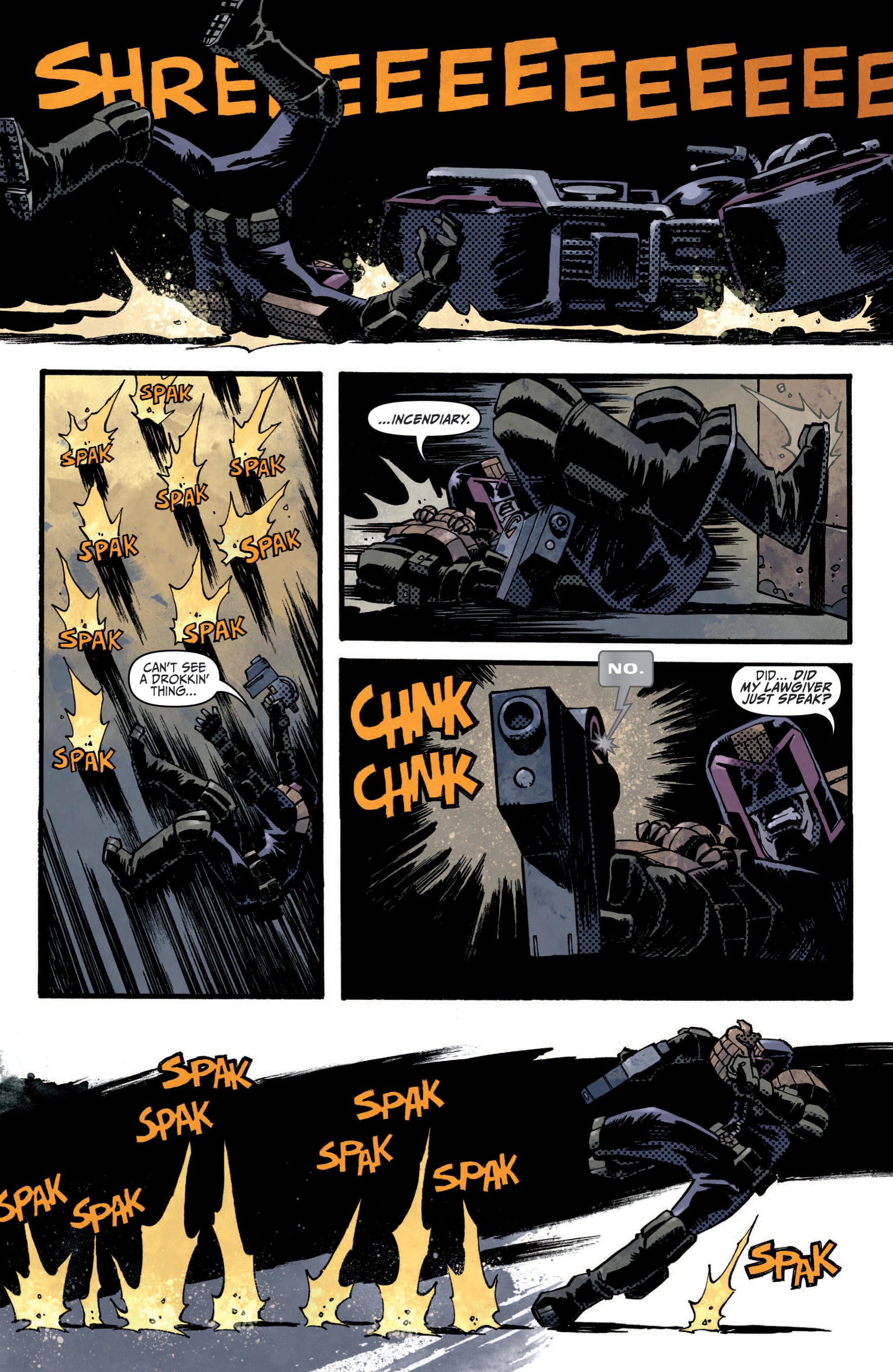 Read online Judge Dredd (2012) comic -  Issue #5 - 12
