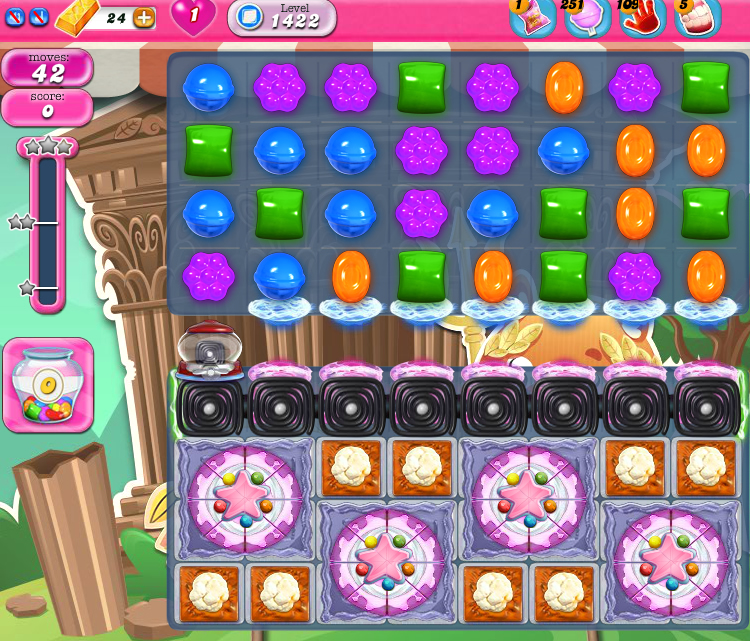 Candy Crush Saga 1422