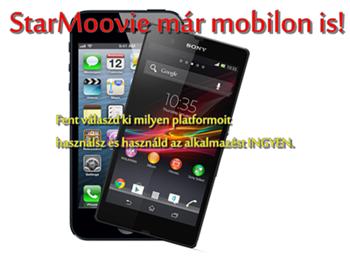 StarMoovie a mobilon!