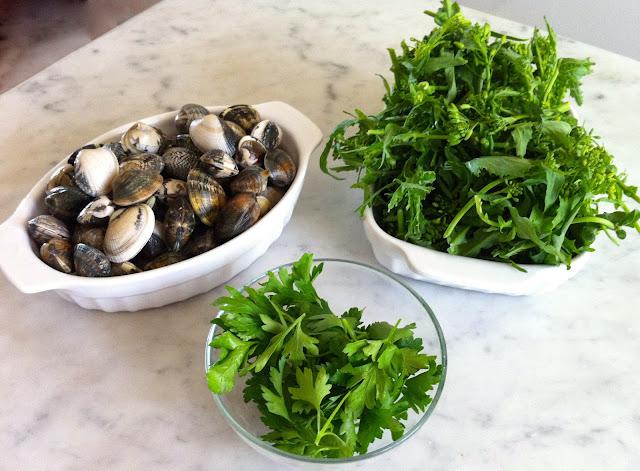spaghetti_with_clams_turnip _greens