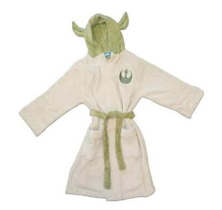 (Small) Star Wars-childrens Dressing Gowns-starwars-yoda-kids Bathrobe
