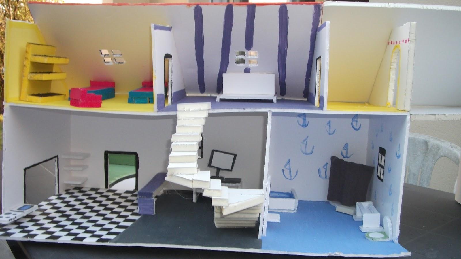 Mes fabrication - Fabrication maison en carton ...