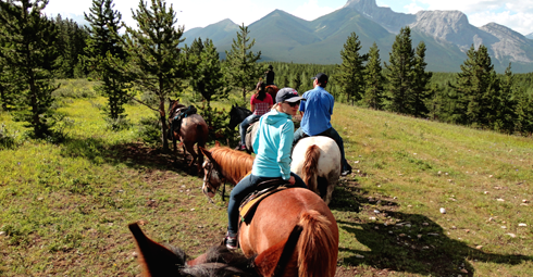 horseback riding alberta travel photography series