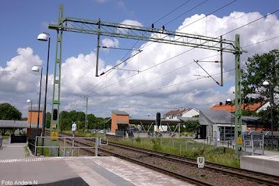 järnvägsstationen, bromölla, station, railroad, railway, järnväg, tåg, tågstation