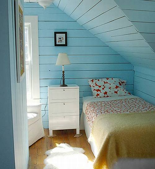 Bedrooms Design Cozy Kids Attic Bedroom Design With Unique Design