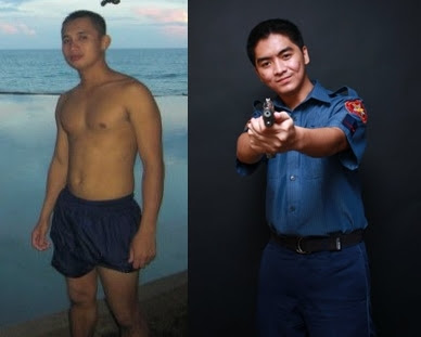sexy cute handsome pinoy policemen, gwapong pulis, hubad na pulis