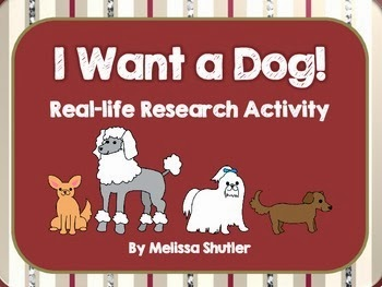 http://www.teacherspayteachers.com/Product/Real-World-Research-Project-The-Perfect-Dog-1041339