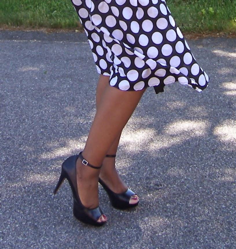Comfortable Platform Heels, Ankle strap heels