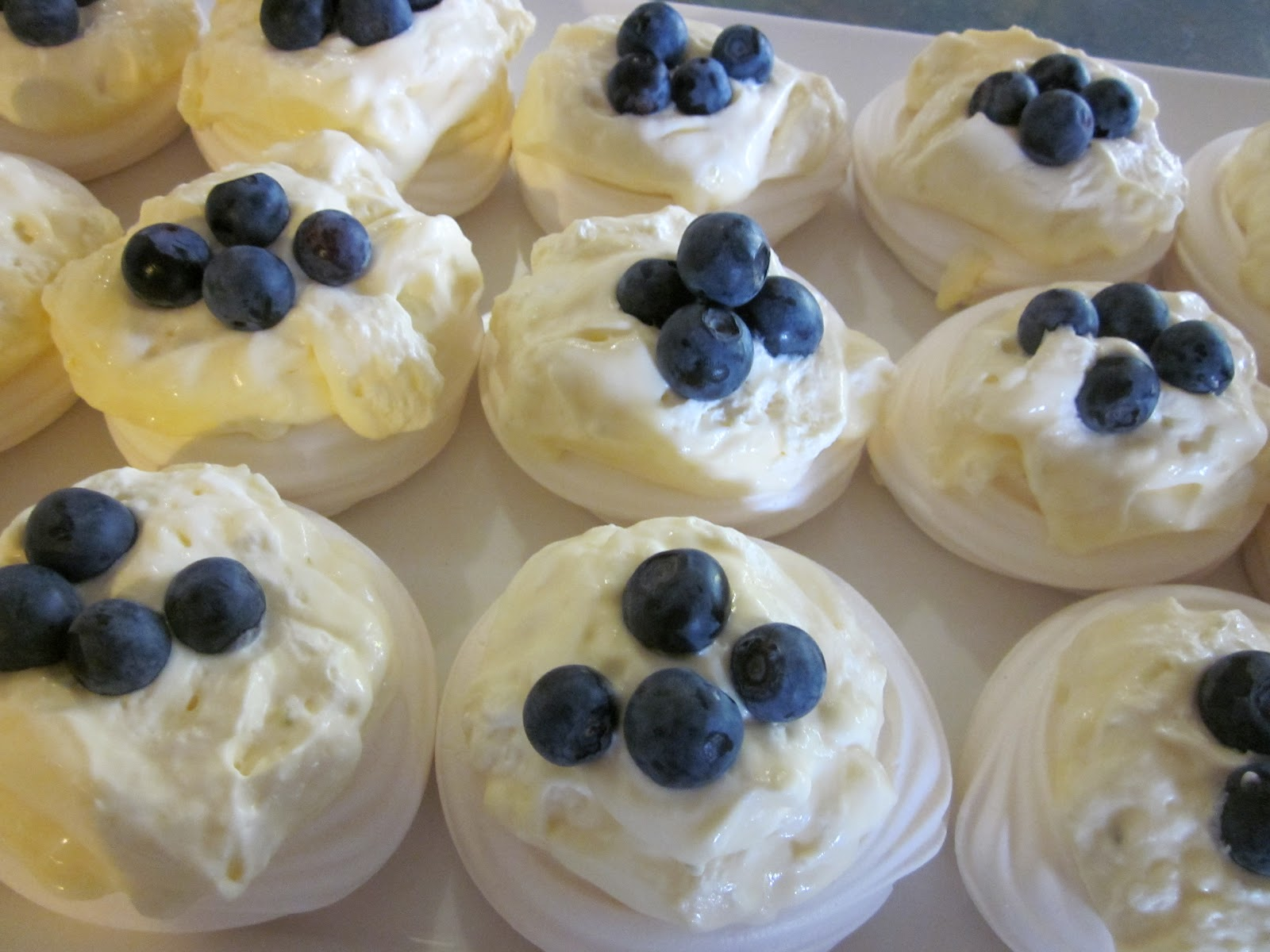 Meringue Cups With Lime Cream And Fresh Berries Recipes — Dishmaps