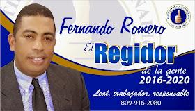 Fernando Romero Regidor PRM